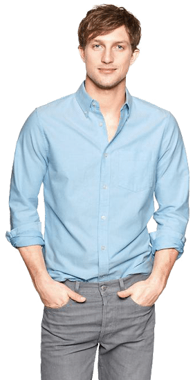Button Down shirts for men engagement photos