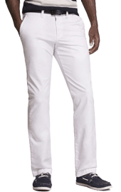 White Chino Pants Mens Engagement Photo Outfits
