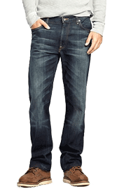 Denim jeans for engagement photo outfits for men