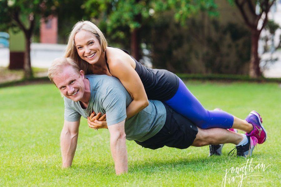 Fitspo Fitness Engagement Photos Houston