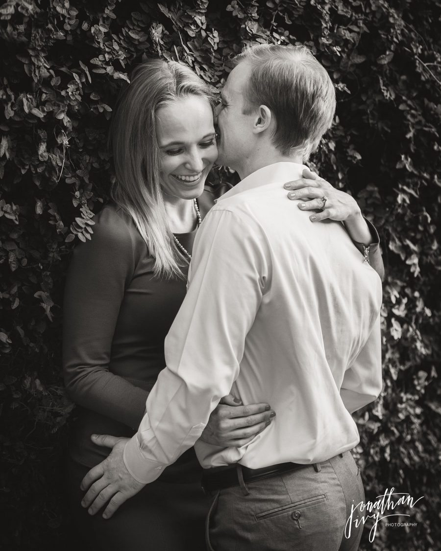 Romantic engagement photographer houston