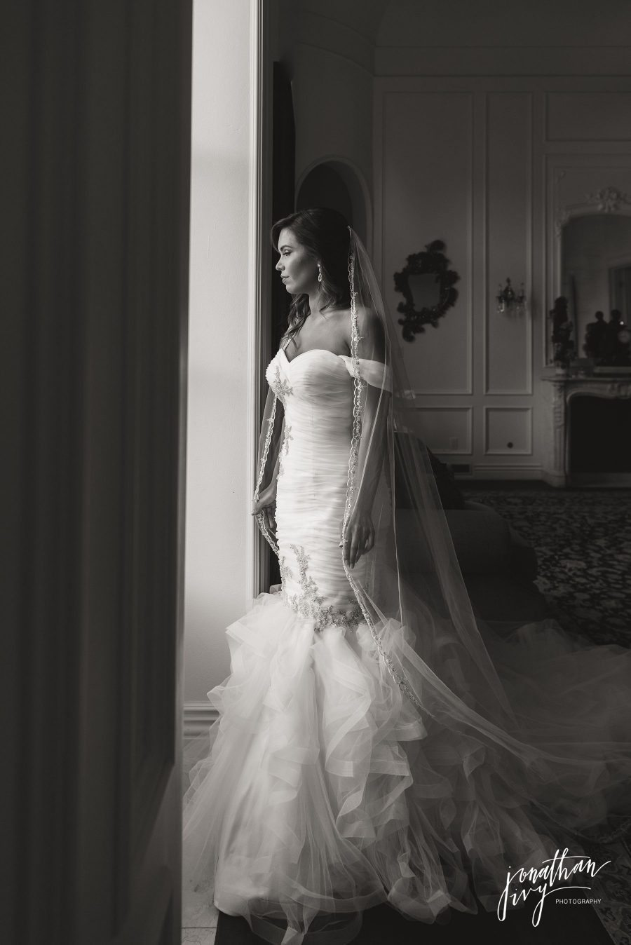 Winnie Couture Bride at Chateau Cocomar