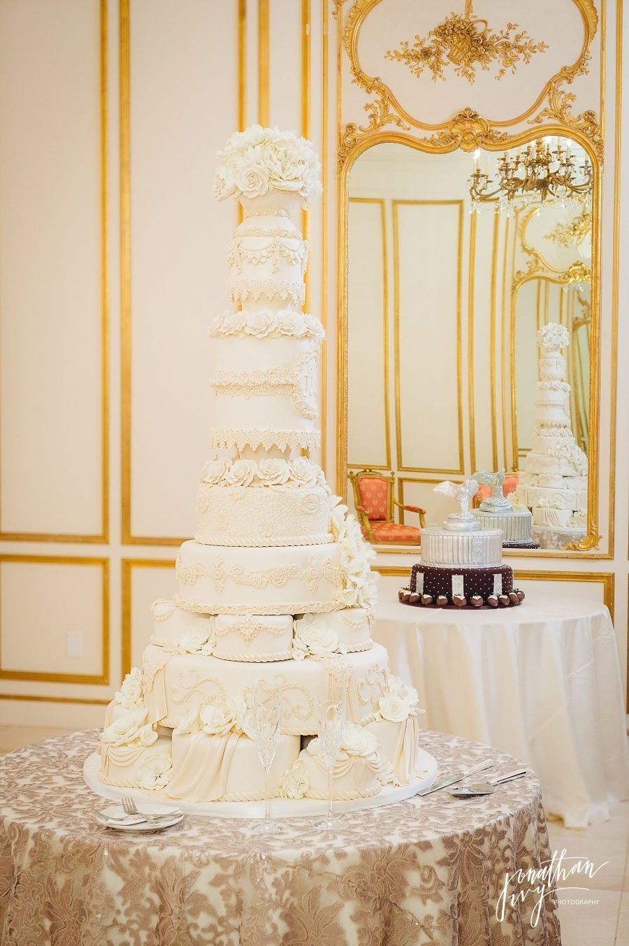 Edible Designs by Jessie Wedding Cake Chateau Cocomar