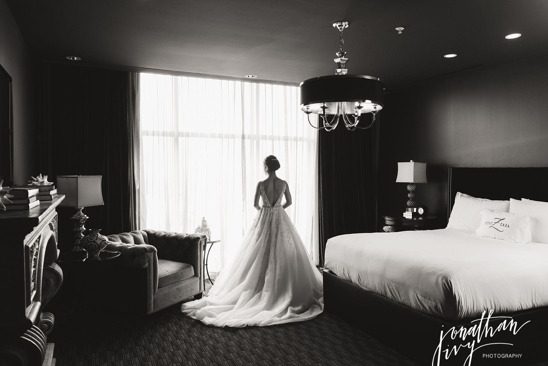 Hotel Zaza Bridal Portraits