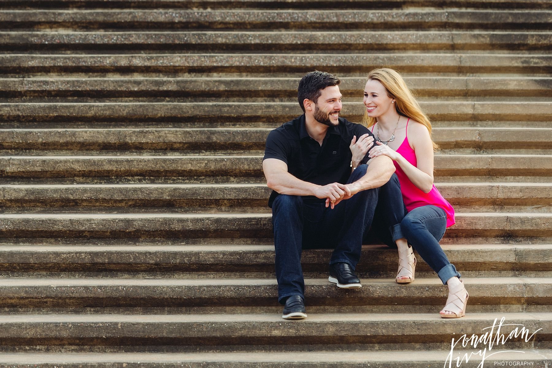Sesquicentennial Park Engagement Session
