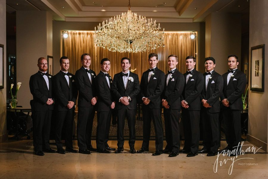 Groomsmen Photos at Hotel Zaza Houston