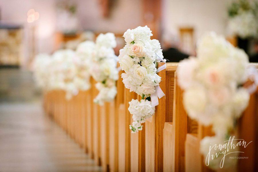 Plants N Petals Ceremony aisle flowers