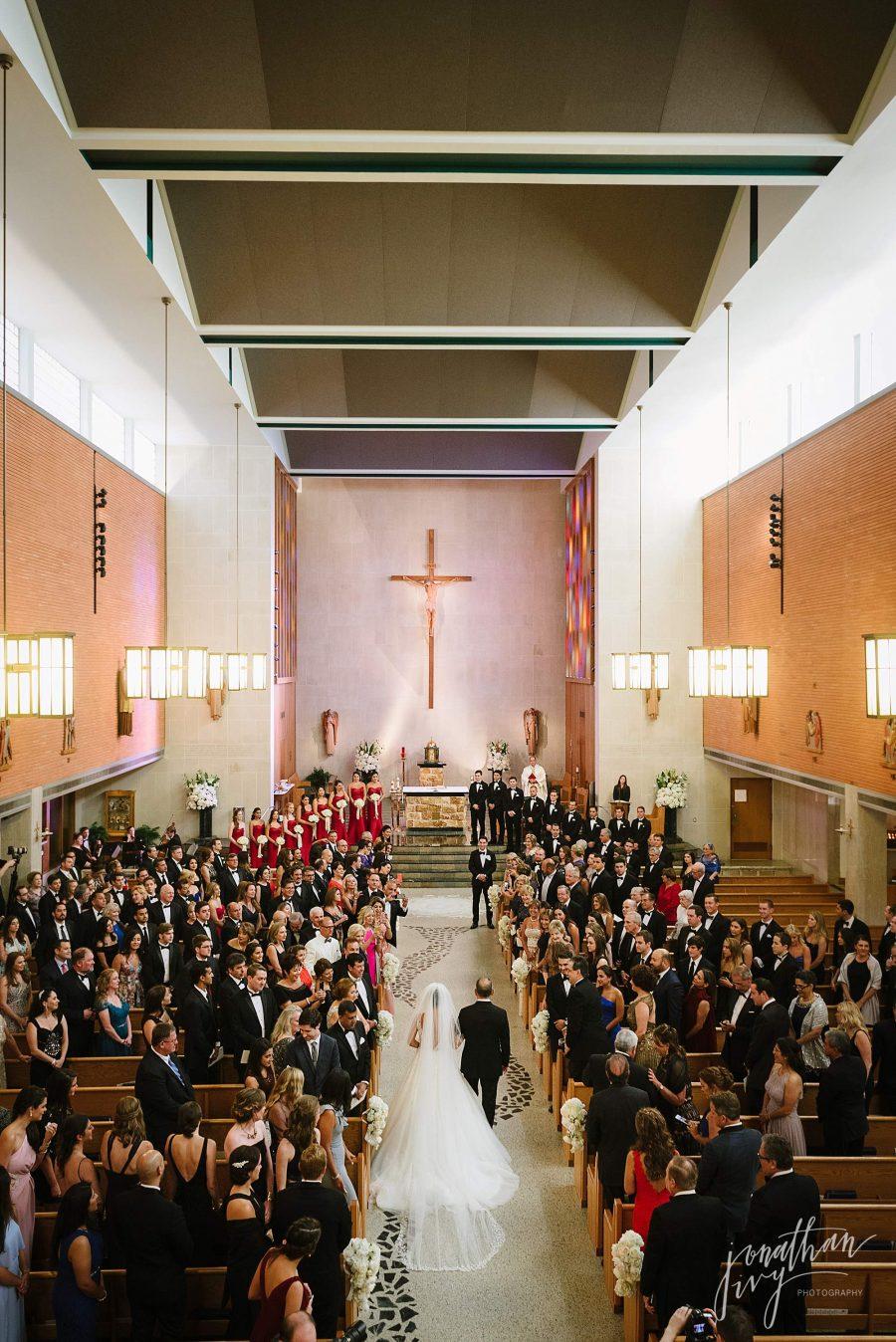 St Vincent De Paul Houston Catholic Wedding