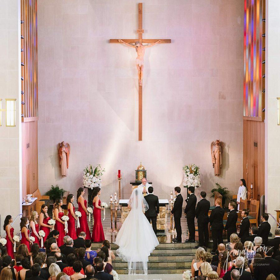 Saint Vincent De Paul Houston Wedding Photos