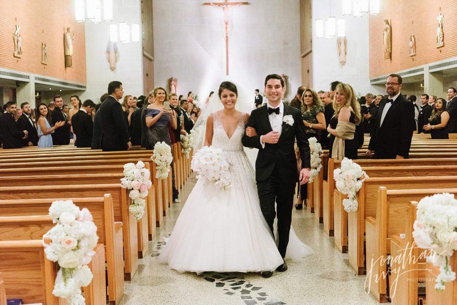 St Vincent De Paul Houston Wedding Photographer