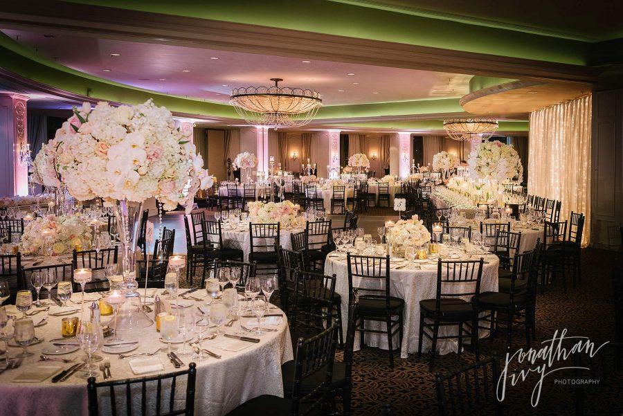 Phantom Ballroom at Hotel Zaza Houston Wedding Reception