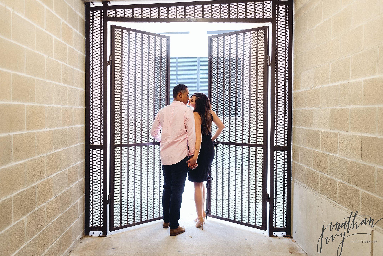 Intimate Houston Engagement Photos