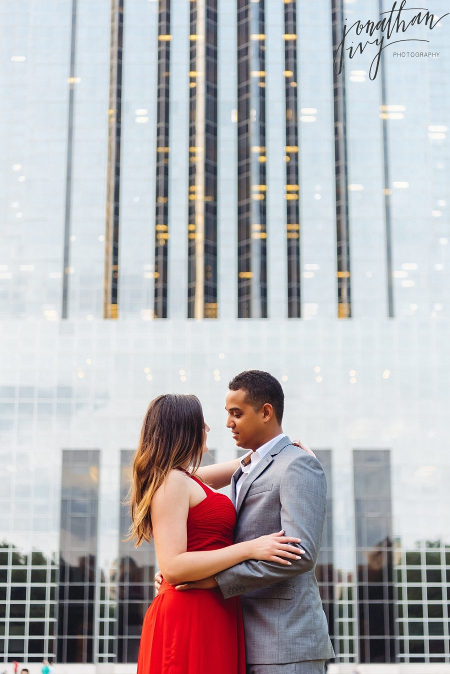 Intimate Houston Engagement Photos