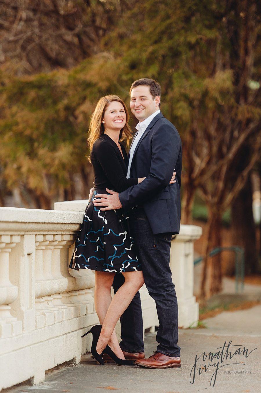 Traditional Houston Engagement Photographer