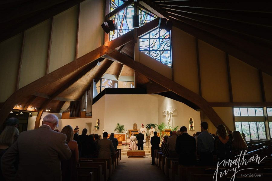 Christ the Good Shepard Spring Texas Wedding