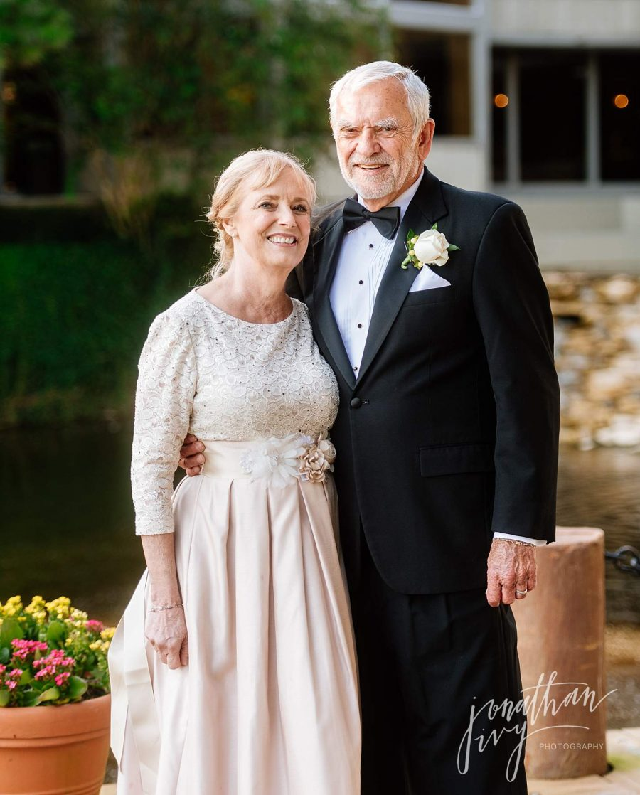 Older Couple 2nd Wedding