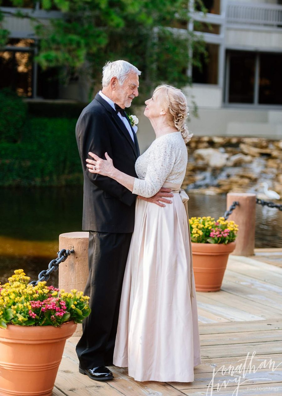 Older Couple Wedding Poses