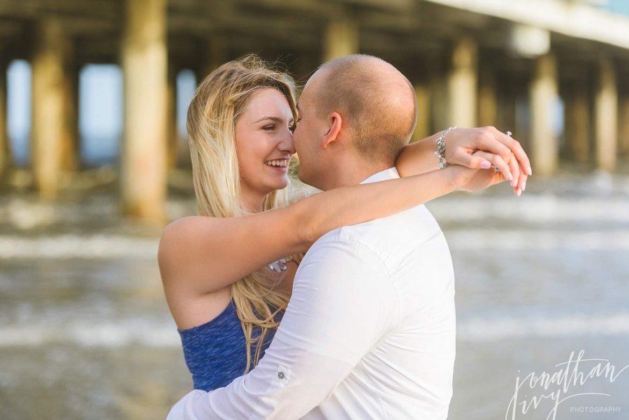 Galveston Engagement Photos