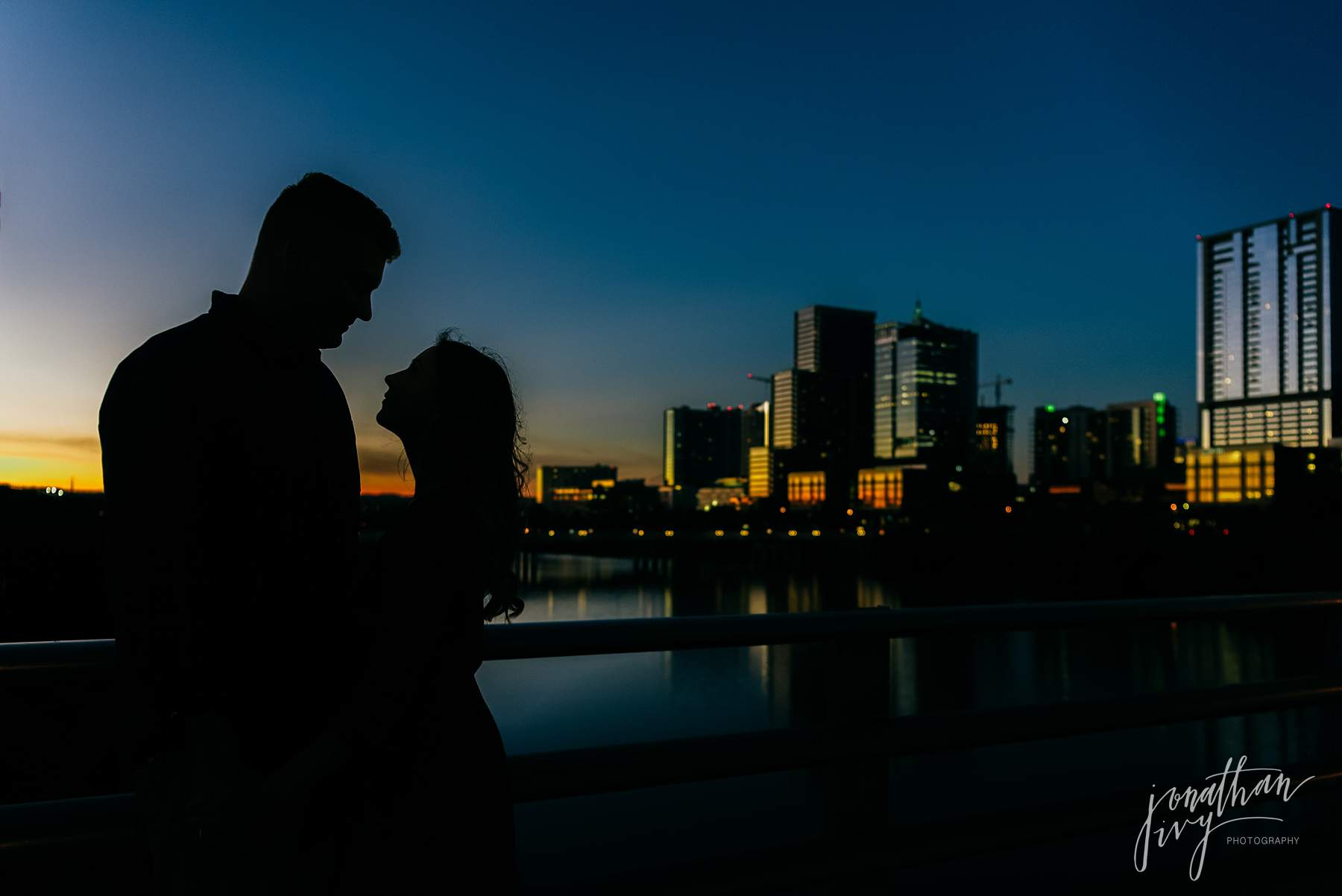Austin Skyline Engagement Photographer