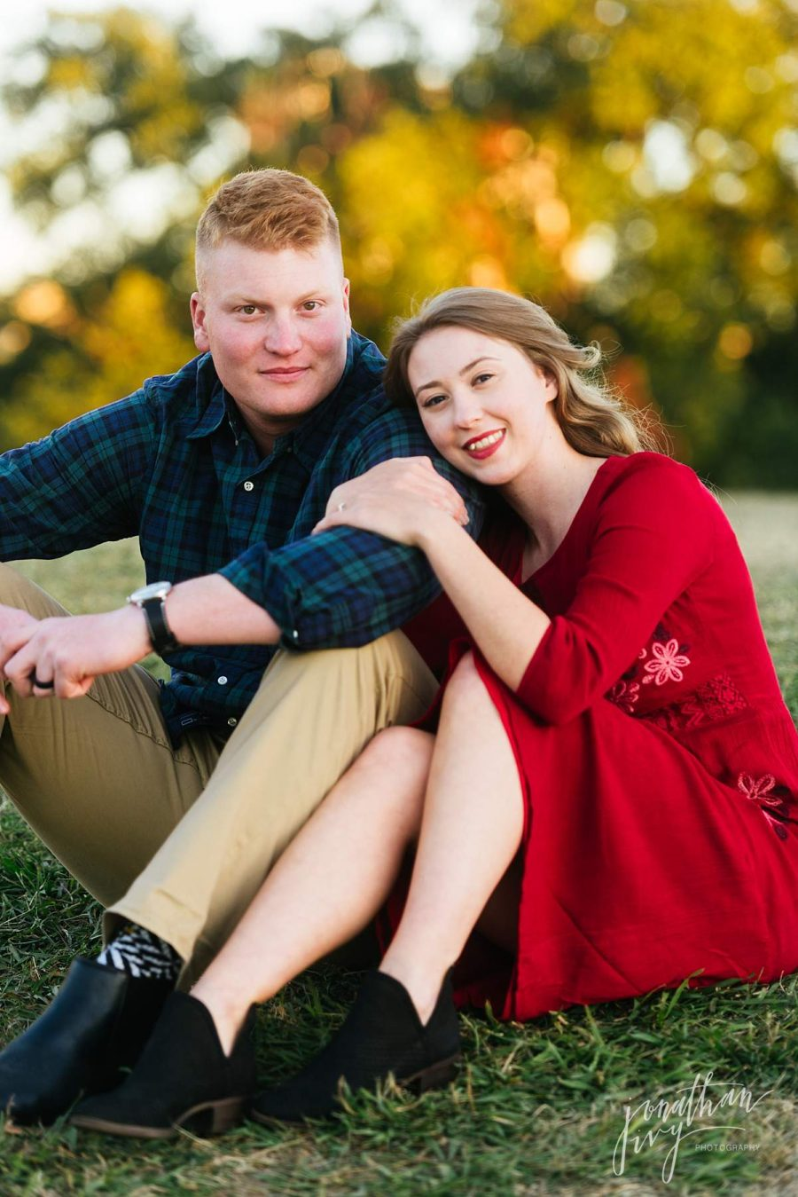 Doug Sahm Hill Path Engagement Photos