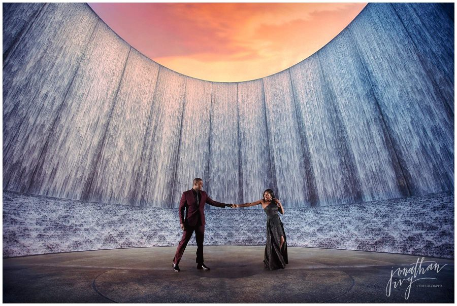 Williams Waterwall Engagement Photos
