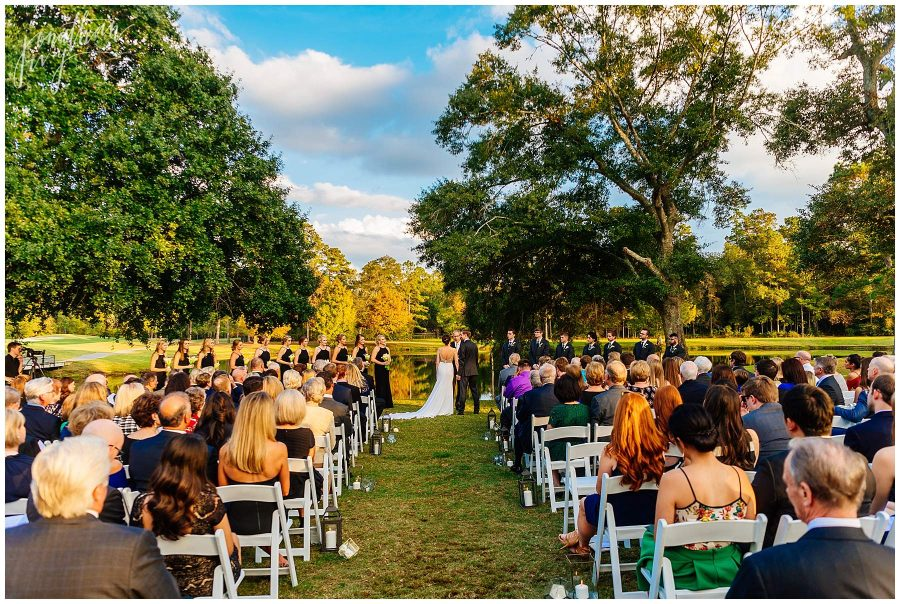The Woodlands Country Club Ceremony