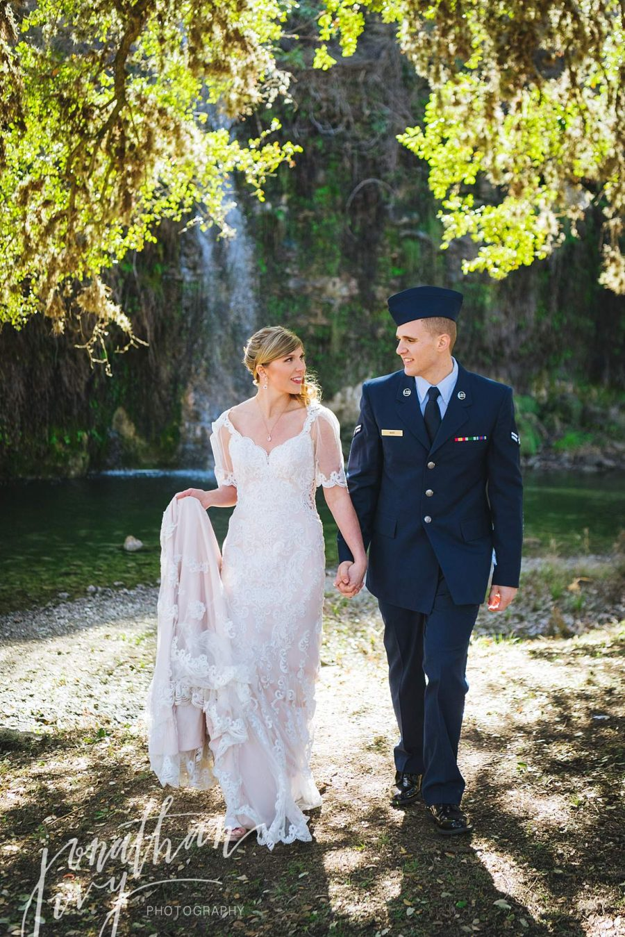 Military Elopement Wedding at Canyon Springs Golf Club