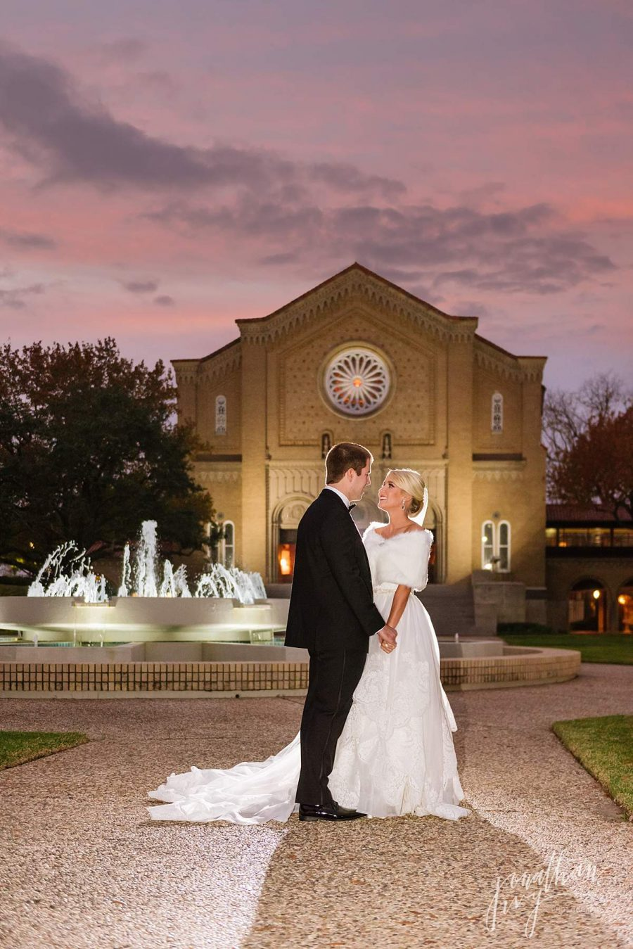 Houston South Main Baptist Church Wedding