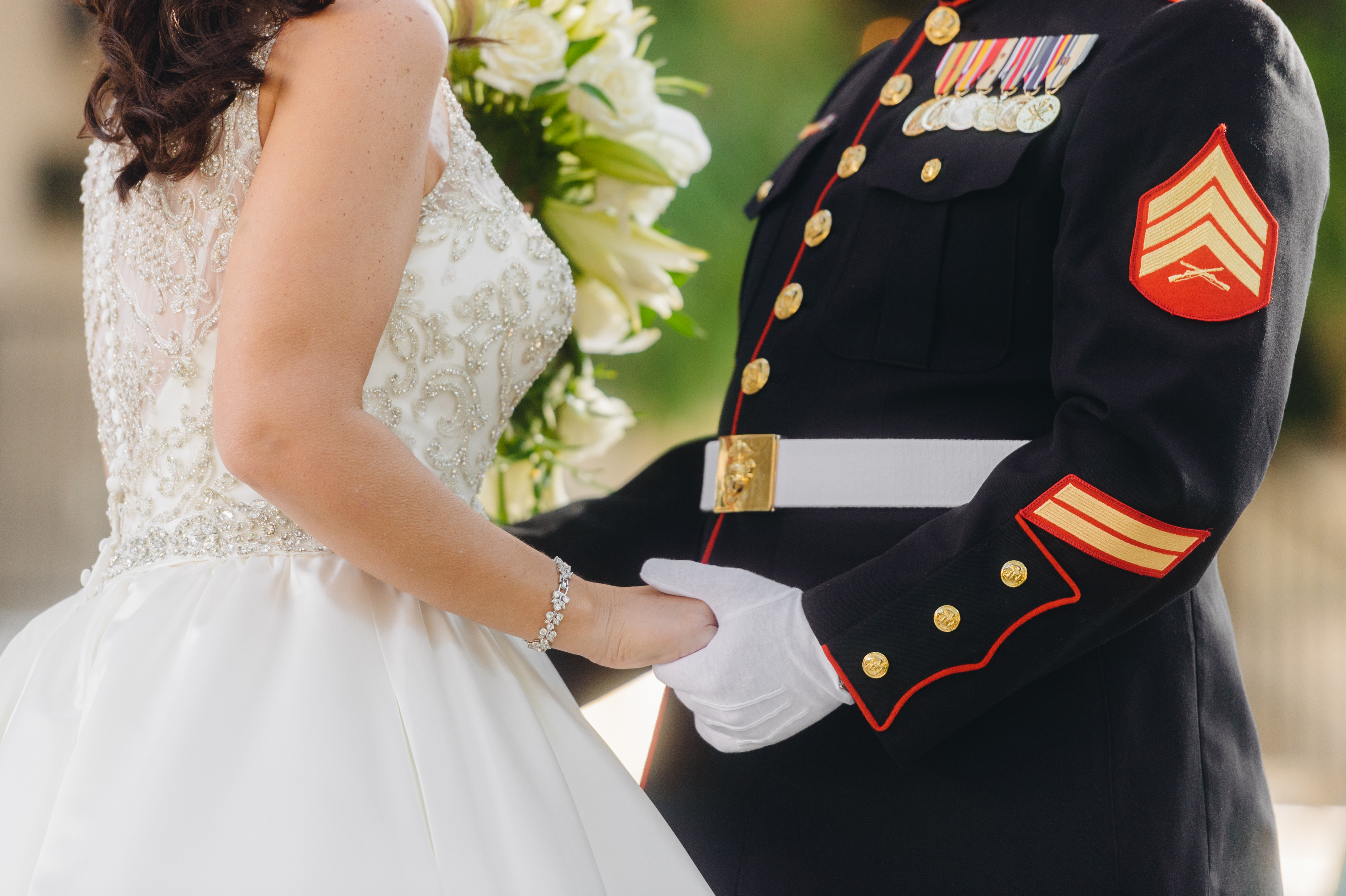 Military Wedding in Texas