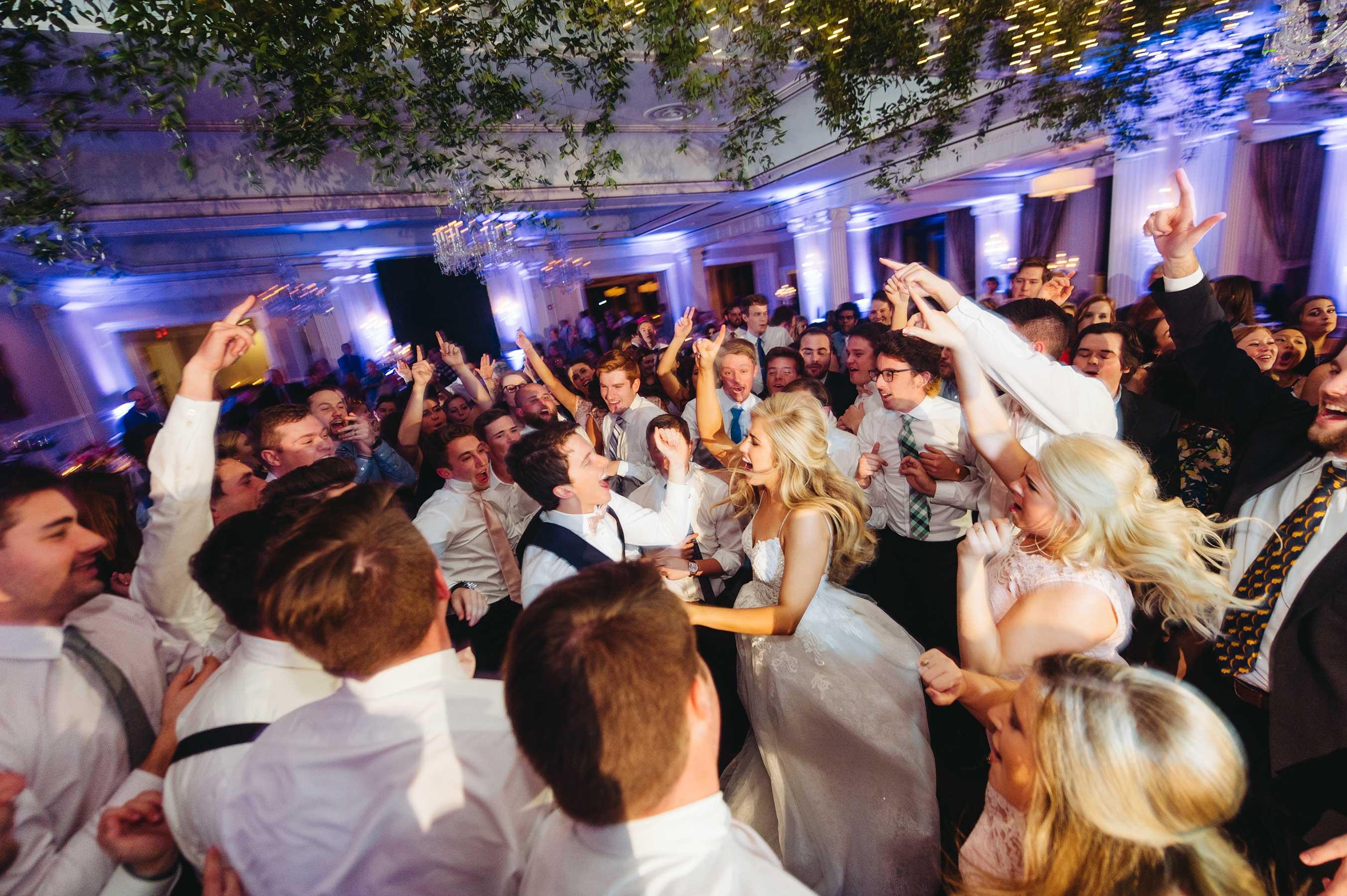 Wedding Reception dance photos