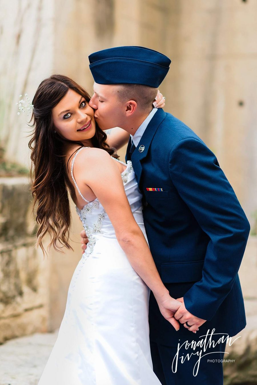 Military Elopement Wedding Photographer