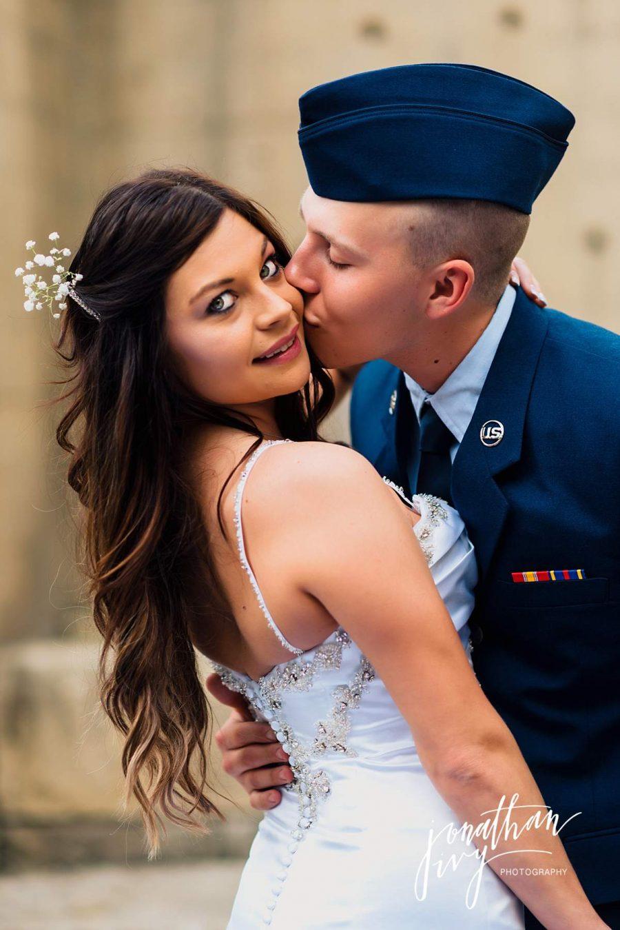 Military Elopement Wedding