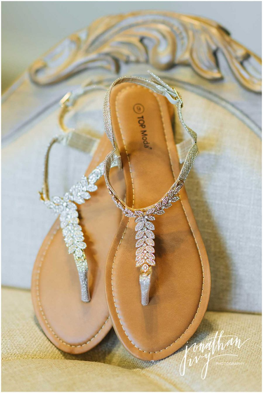 Bridal Sandal Shoes for Wedding Day