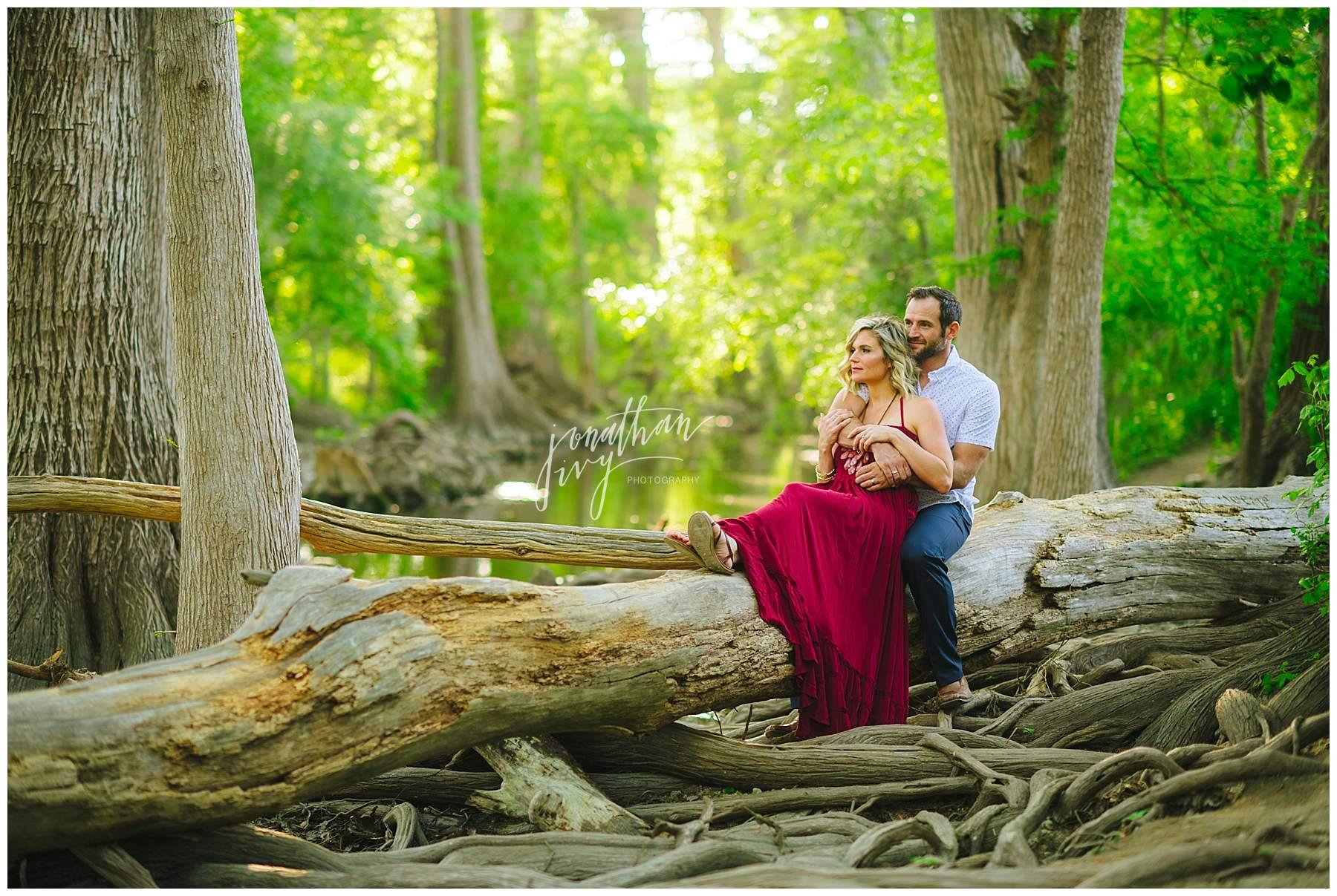 Cibolo Creek Engagement Photos