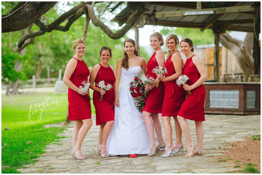 Don Strange Ranch Bride and Bridesmaid photos