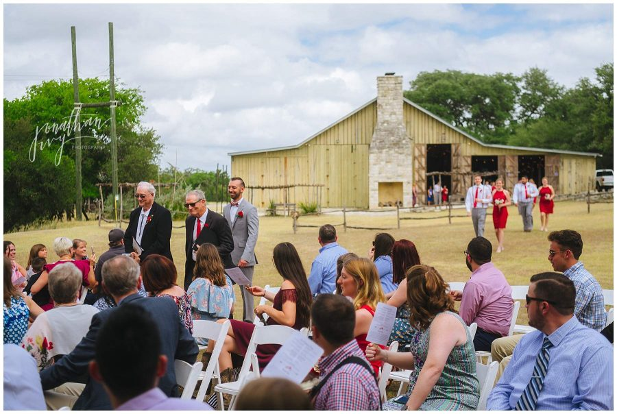 Don Strange Ranch Outdoor Wedding Ceremony