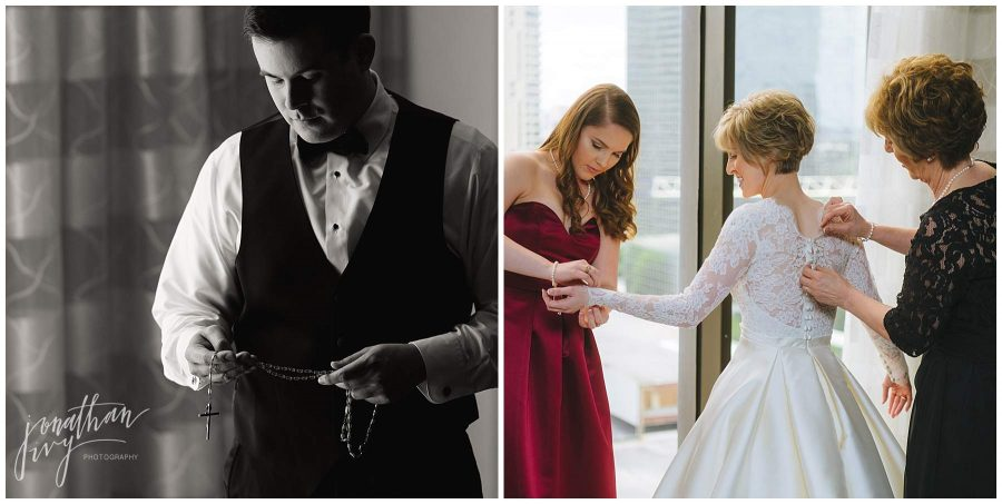 precious items at wedding