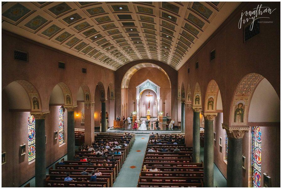 St Anne's Church Houston TX Wedding