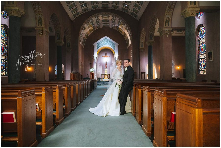 St Anne's Catholic Church wedding
