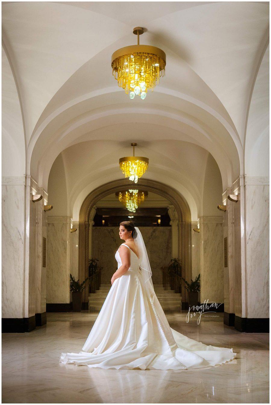 St. Anthony's Hotel Bridal Portraits