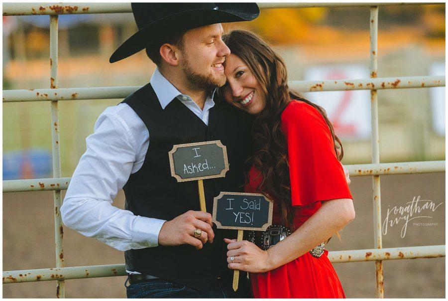 Don Strange Ranch Engagement Photos