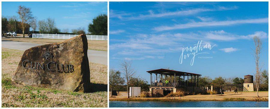 The Clubs at Houston Oaks Wedding Gun Range