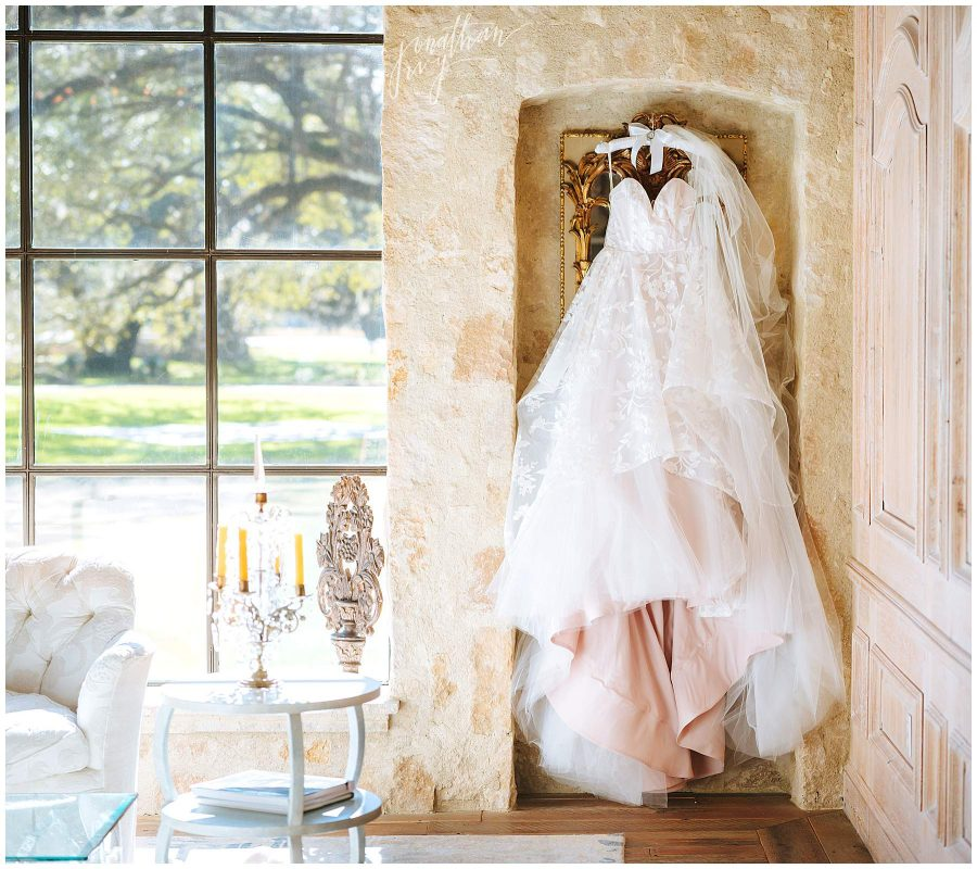 The Clubs at Houston Oaks Womens Locker Room Wedding
