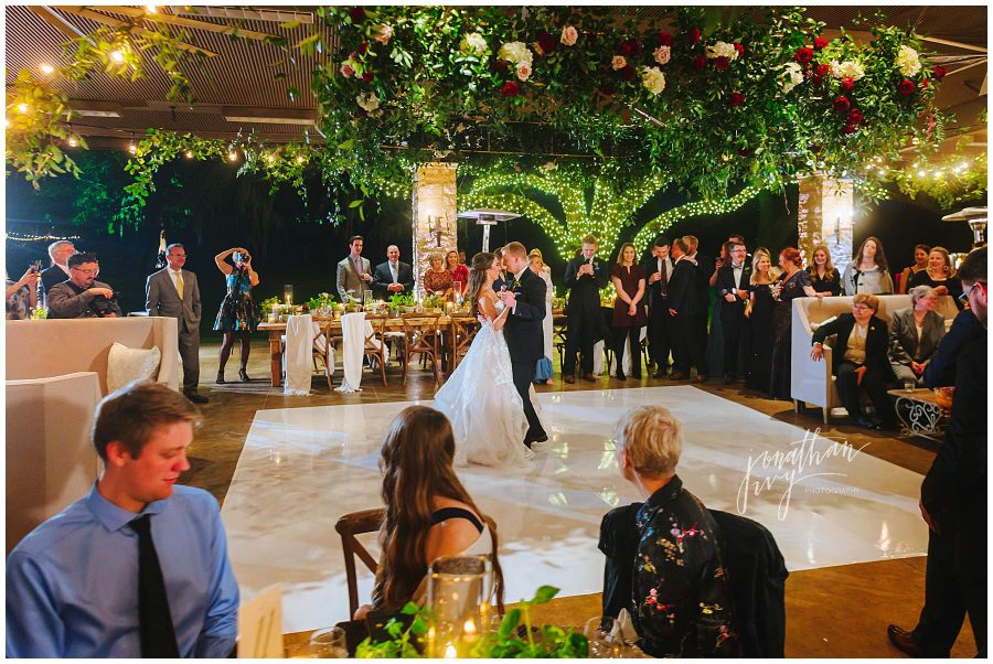 The Clubs at Houston Oaks Pavilion wedding