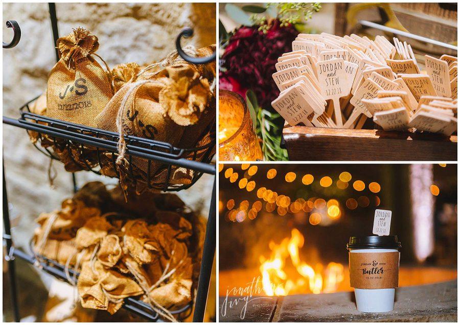 unique wedding reception decor
