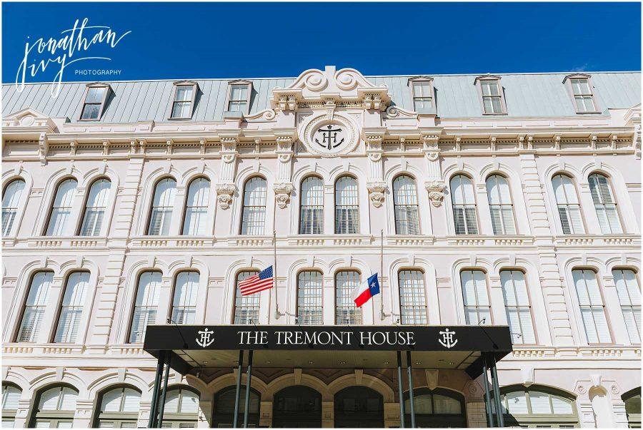 Tremont House Hotel Wedding Galveston