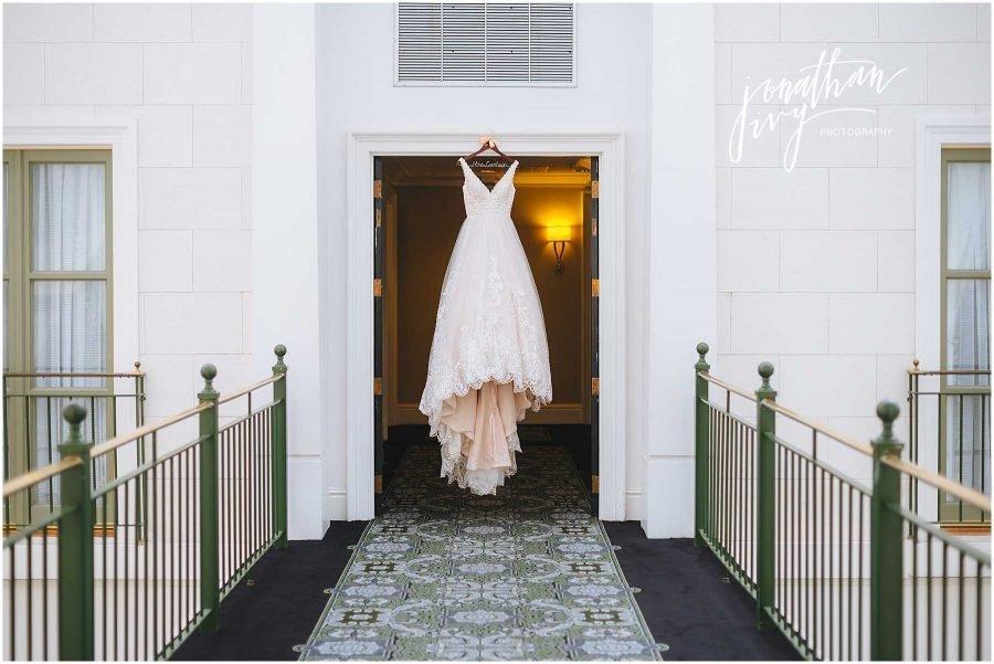 Tremont House Hotel Wedding Dress