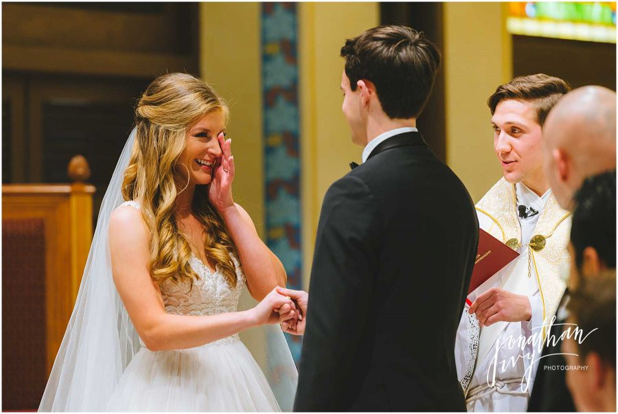 Wedding at St Mary's Basilica Galveston Photos