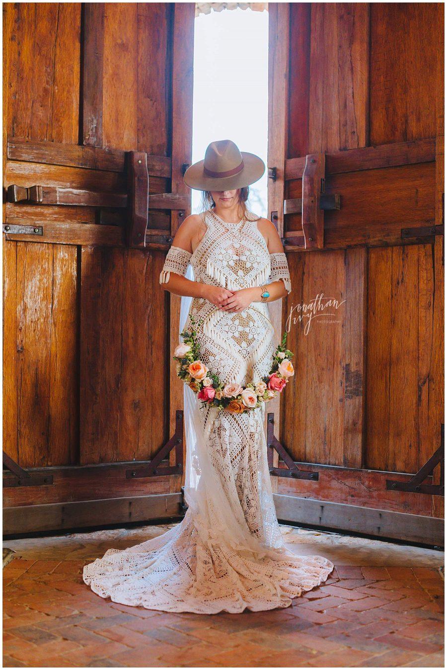Camp Lucy Bridal Portrait