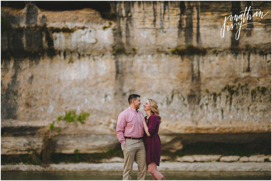Guadalupe River State Park Engagement Photos